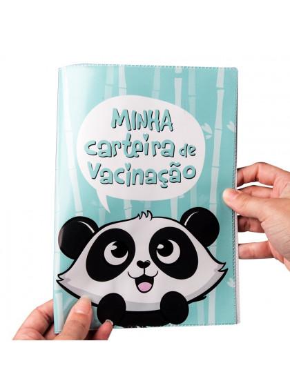Porta Carteira Vacinação Panda - Uatt