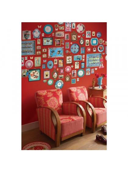 Painel de papel de parede Memories Vermelho