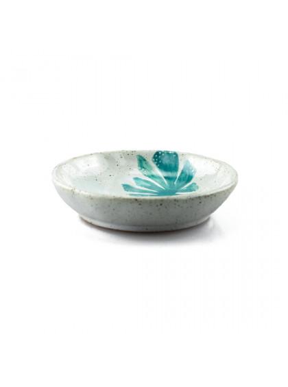 Porta-Anéis de Porcelana Big Leave Verde - Urban