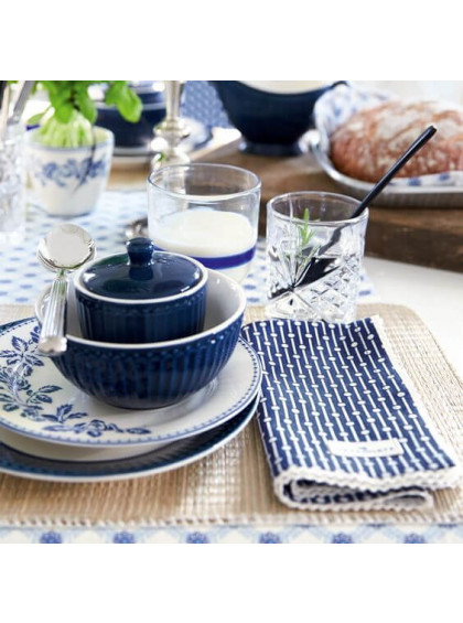 Prato de Sobremesa Fleur Azul