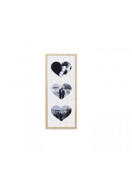 Quadro Porta-retrato Corações