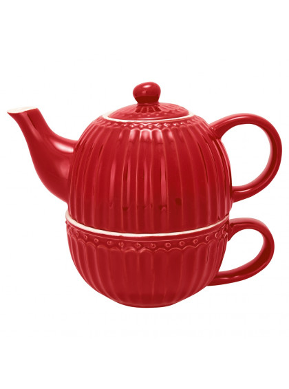Chá para Um Vermelho