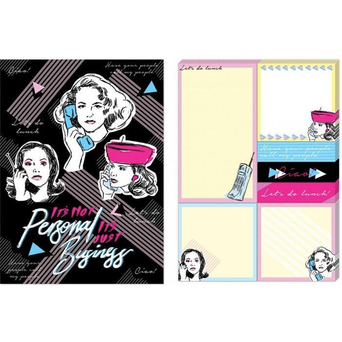 Post it estampa Mulher no telefone – Punch Studio