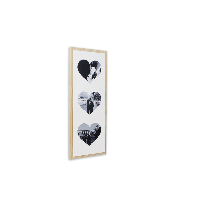 Quadro Porta-retrato Corações - Geguton