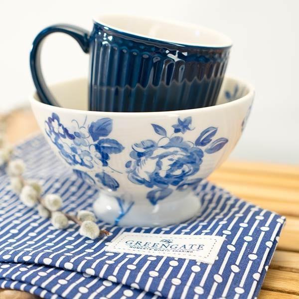 Bowl de Sopa Amanda Azul Escuro - Greengate