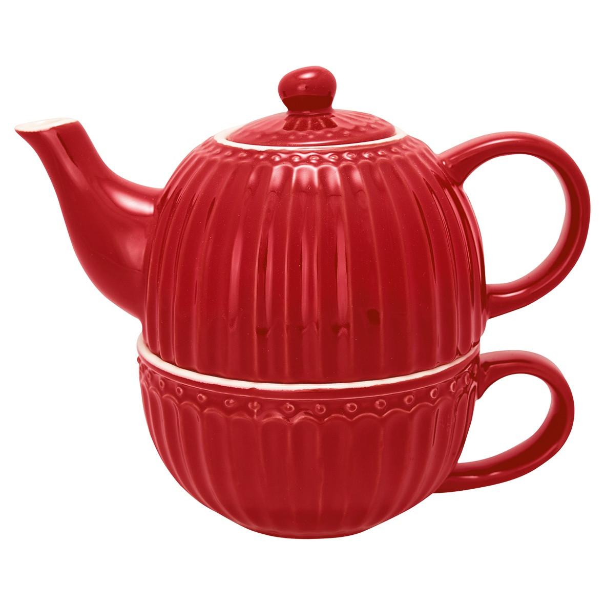 Chá para Um Alice Vermelho - Greengate