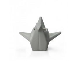 Cachepot Pássaro Origami Grande Fendi Claro