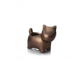 Cachepot Cãozinho Pequeno Cobre