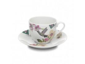 Xícara com Pires Chá Branca - Accessorize