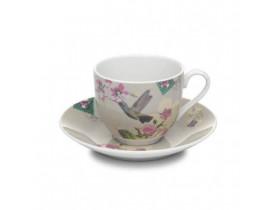 Xícara com Pires Chá Bege - Accessorize