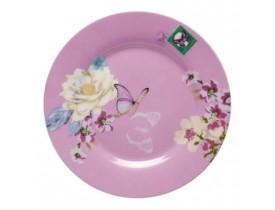 Prato Pão Rosa 18cm - Accessorize