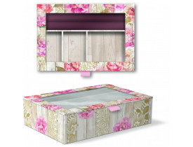 Caixa Porta Joias Rustica Floral Patterns - Punch Studio