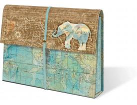 Pasta Organizada Sanfonada Explore Elephant