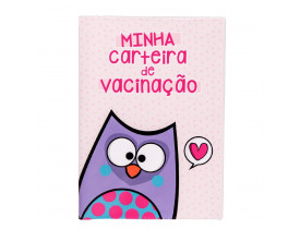 Porta Carteira Vacinação Bubu e as Corujinhas - Uatt