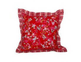 Almofada Quadrada Chinese Blossom Vermelho - Pip Studio