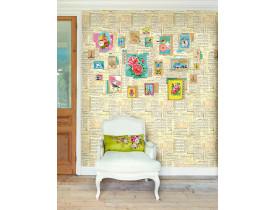 Painel de papel de parede Sing-Along Amerelo - Pip Studio