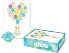 Caixa c/ Cartões Ballon Puppy