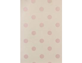 Rolo de papel de parede Poá Rosa
