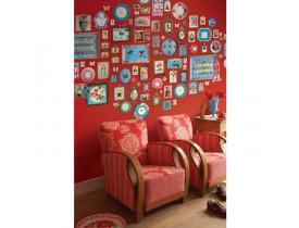 Painel de papel de parede Memories Vermelho - Pip Studio
