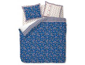 Kit lençol Chinese Blossom Azul Escuro Solteiro - Pip Studio