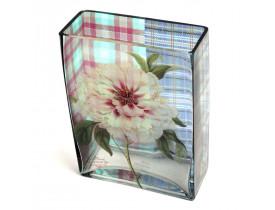 Vaso Plaid Peony Lily - Transparente - Fringe Studio