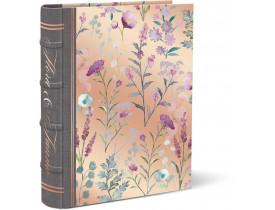 Caixa Livro Qual. Lilac e Sage Média - Punch Studio