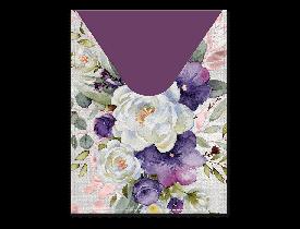 Capa para passaporte estampa Flor Branca – Punch Studio