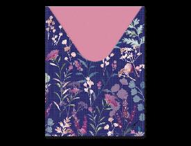 Capa para passaporte estampa Roxo com flores – Punch Studio