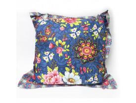 Almofada Quadrada Flowers Mix Azul - Pip Studio