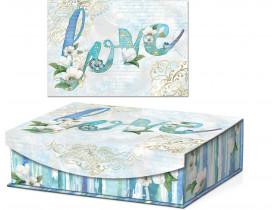 Caixa Livro Azure Sky Média - Punch Studio