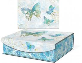 Caixa Livro Azure Sky Grande - Punch Studio
