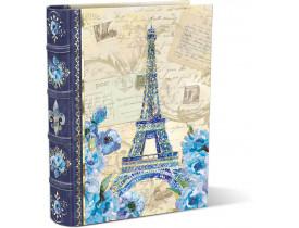 Caixa Livro Paris Sparkle Média - Punch Studio