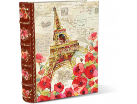 Caixa Livro Paris Sparkle Grande - Punch Studio