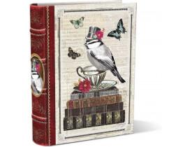 Caixa Livro Distinguished Animals Pequena - Punch Studio