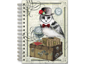 Caderno estampa Coruja – Punch Studio