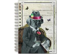 Caderno estampa Cachorro – Punch Studio