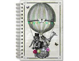Caderno estampa Balão – Punch Studio