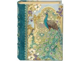 Caixa Livro Peacock IN The Garden Pequena - Punch Studio