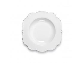 Prato Massa de Porcelana Royal Branco