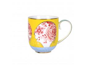 Caneca de Porcelana Royal Amarelo 325ML - Pip Studio