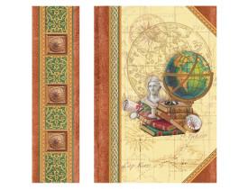 Caixa Livro para cartões Green Globe – Punch Studio