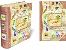 Caixa Livro p/ cartões Natures