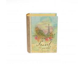 Caixa Livro Pequena Eiffel - Punch Studio