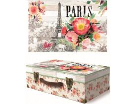 Caixa Maleta Wood Paris Pequena – Punch Studio