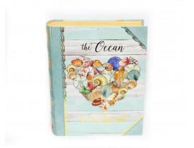 Caixa Livro Shell Heart Grande - Punch Studio