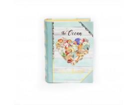 Caixa Livro Shell Heart Pequena - Punch Studio