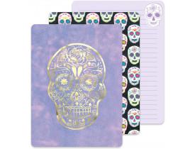 Caderno de anotações Suar Skull