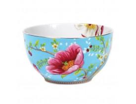 Bowl de Porcelana Chinese Garden Azul