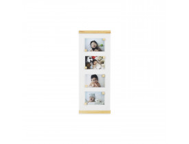 Quadro Porta-retrato 10x15 Branco Pinus com Ímã
