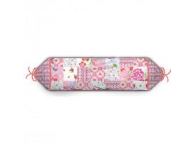 Almofada Rolinho Chinese Blossom Patch Rosa - Pip Studio